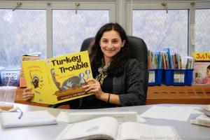 Ms. Arabia, First Grade Teacher